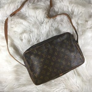 Louis Vuitton French Company Crossbody Vintage